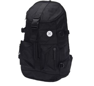 2017 Quality Black Nylon Backpack (MS1203) pictures & photos