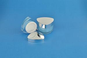Ukmj06 30ml-50ml PMMA Cosmetic Cream Bottle, Jar