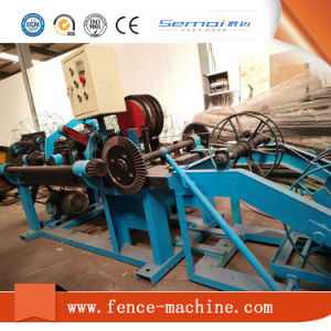 Hot Sale Barbed Wire Making Machine (CE) pictures & photos