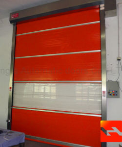 Motorized High Speed Fast Rolling Shutter Door pictures & photos