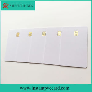 Fast Drying Sle4442 Chip PVC Card pictures & photos