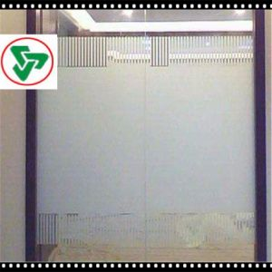 10mm Acid Etched Tempered Shower Glass with Ce pictures & photos
