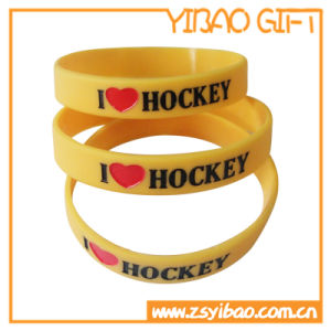 Customized Silicone Band with Printing Logo (YB-SW-18) pictures & photos