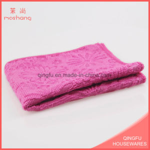 Embossed Pattern Towel Microfiber Gym Towels pictures & photos