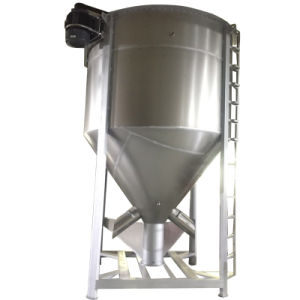 Plastic Heating Vertical Color Mixer/Drying Mixer Blender Machine
