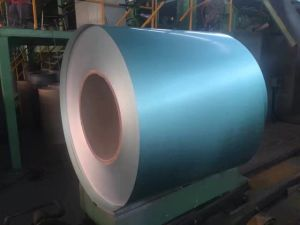 PPGL Color Coated Galvalume Steel Coil with Wrinkle Matt Spangle Yehui pictures & photos