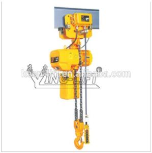 Motor Trolley Type Electric Chain Hoist with Hook Block pictures & photos
