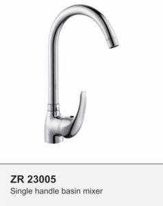 Single Handle Long Spout Basin Faucet pictures & photos