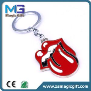 Promotional Customized Cell Phone Metal Keychain pictures & photos