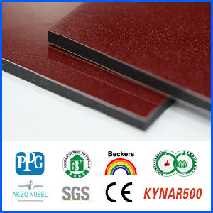 High Quality 4mm PVDF Coating Aluminum Composite Panel, Aluminum Plastic Composite Panel, 4mm Acm pictures & photos