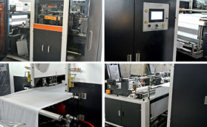 Automatic Nonwoven Box & Loop Handle Bag Making Machine pictures & photos