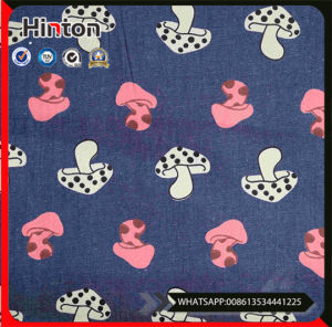 Leading Time Fast Print Yarn Dyed Jeans Denim Fabric Wholesale pictures & photos