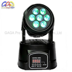 Cheap Moving Head Light 7PCS*10W LED Light Moving Head Light pictures & photos