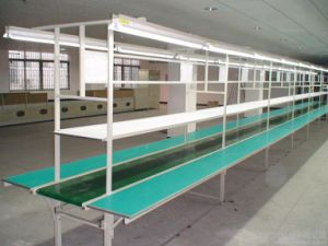 PVC PU 90 Degree Turning Belt Conveyor pictures & photos