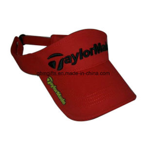 Fashion Multi Color Acrylic Visor Sports Golf Without Crown Sun Cap pictures & photos