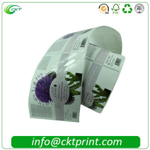 Custom Roll Printed Self Adhesive Glossy Stickers Label (CKT-LA-416)