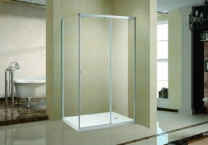 Rectangle Shower Enclosure with One Sliding Door and 1 Side Panel (K-719) pictures & photos