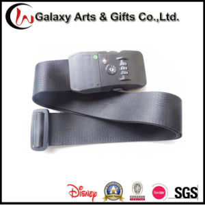 Promotion Gift Nylon Material Custom Adjustable Luggage Strap with Tsa Lock pictures & photos