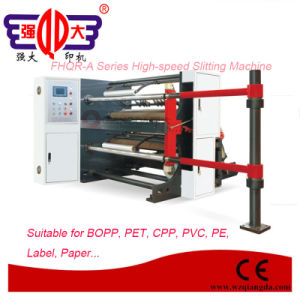 Fhqr Series High-Speed PVC Film Slitting Machine pictures & photos