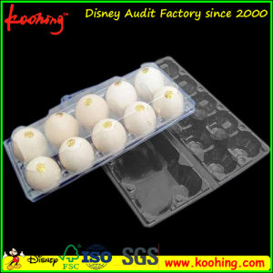 Clear Transparent Plastic Pet 10 Eggs Packaging Tray pictures & photos