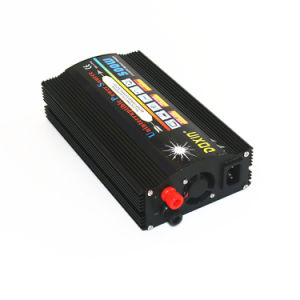 Modified sine wave off grid tie solar power supply UPS inverter with charger 500W 12V pictures & photos