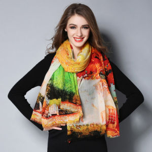 Women Wool Scarf Shawls pictures & photos