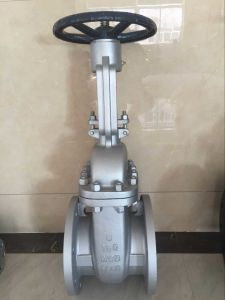 Steel API Stand Gate Valve of Flange pictures & photos