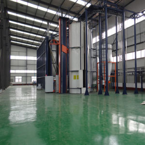 Electrostatic Powder Coating Line for Aluminum Profile pictures & photos