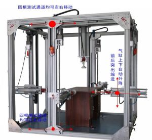 Strength Durability Test Machine for Chest Desk and Bed pictures & photos