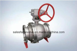 Flanged Ball Valve (TRUNNION BALL)