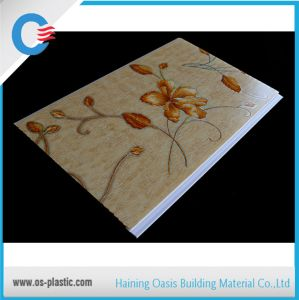 Haining Factory PVC Panel PVC Ceiling Panel Hot Stamping Flat Wall Panel pictures & photos