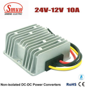 24V to 12V 10A Waterproof DC DC Step Down Converter pictures & photos