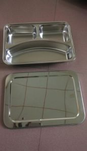 High Quality Stainless Steel Snack Tray pictures & photos