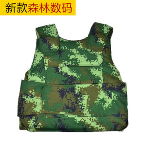 Multicamo Anti-Stabsafety Anti-Bullet Kevlar Plates Multi-Pockets Military Green Tactical Outdoor Travelling Quick-Release Vest pictures & photos