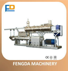 Twin Screw Wet Steam Feed Extruder for Aquatic Animal Husbandry Machine (TSE98) pictures & photos