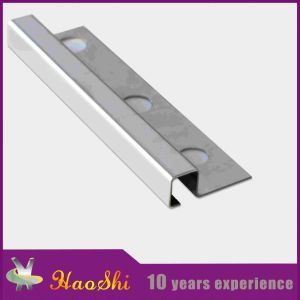 Quality Assured Stainless Steel Tile Trim