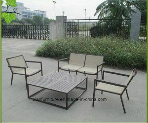 Outdoor Furniture Powder Coated Aluminum Garden Textilene Fabric Sofa  (CF988) Part 25