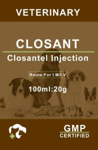Closantel Veterinary Injection Solution (12-20g/100ml) pictures & photos
