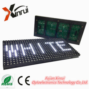 P10 Outdoor White Single Colour LED Module Display Screen pictures & photos