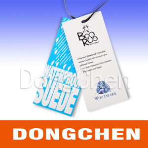 Customized Printed Die Cut Shape Paper Hang Tags for Clothing pictures & photos