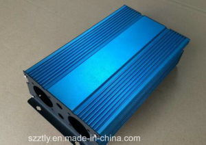 6063 Custom Aluminium Extrusion Profile by CNC for Power out Shell pictures & photos