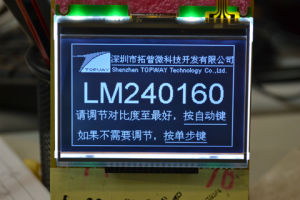 240X160 Graphic LCD Display Cog Type LCD Module (LM240160D) pictures & photos