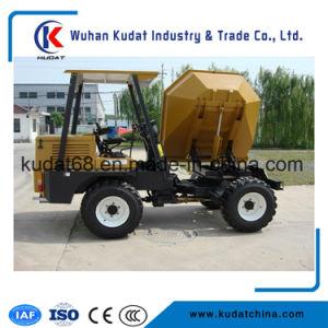 3000kgs 4WD Diesel Mini Concrete Dumper with 180 Return (SD30R) pictures & photos