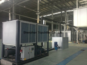 370000BTU/H Air Cooled Screw Chiller, Air to Water Screw Chiller pictures & photos