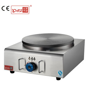 Manufacture High Quality One Plate Desktop Gas Crepe Maker with Good Price pictures & photos