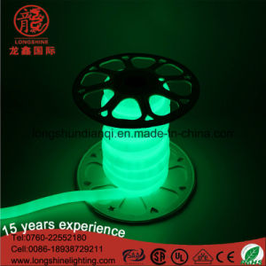 LED Christmas Green 220V Strip Rope Light Neon Light Flex pictures & photos