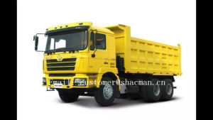 Shacman F2000 6X4 Dump Truck Cummins Engine 420HP pictures & photos