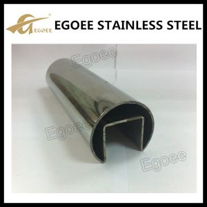 Stainless Steel Slot Pipe for Handrail From China with Certification pictures & photos