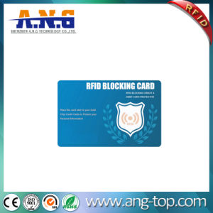 RFID Shield Card for Credit Card Protection/Smart Card Guard pictures & photos