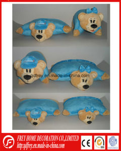 Soft Promotion Gift of Plush Tiger Toy Cushion pictures & photos